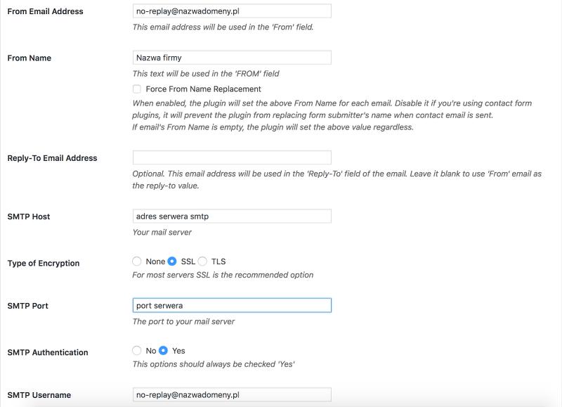 ContactForm: formularz na mojej stronie WWW nie wysyła wiadomości
